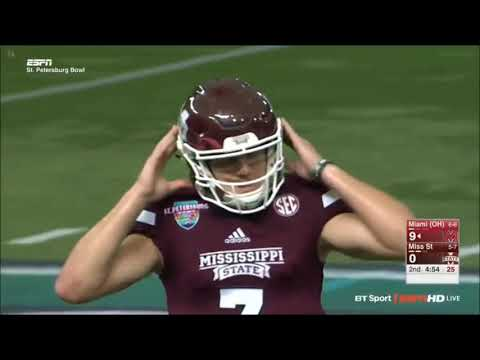 2016 St Petersburg Bowl - Mississippi State vs Miami, OH