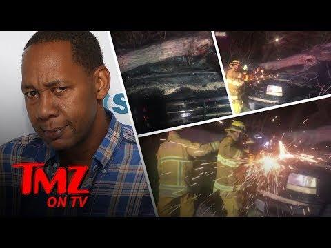 A Tree Destroyed Mark Curry's Car! | TMZ TV