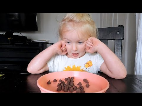 Juniper's Candy Challenge! We Had NO IDEA She Would React This Way!