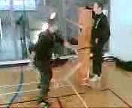 SIfu Terry Frost Wooden Dummies Dont Hit Back