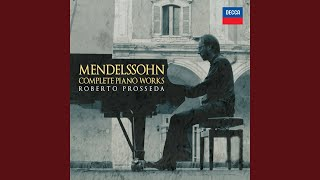 "Mendelssohn: Lieder ohne Worte, Op.62 - No. 5 in A Minor. Andante ""Venetian Gondola Song"", MWV..."