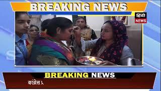 hindi news कांग्रेस प्रत्याशी अजंता यादव की जनसम्पर्क में उमड़ती भीड़