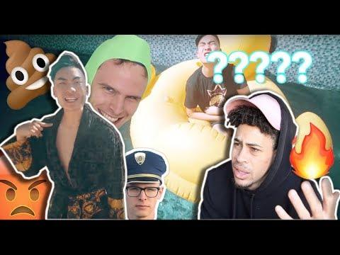 Ricegum - Frick Da Police (Official Music Video) | Bruh.....PLEASE STOP! SMH