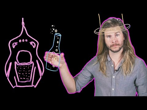 How Many Wonka Fizzy Lifting Drinks Would It Take to Float? (Because Science w/ Kyle Hill)