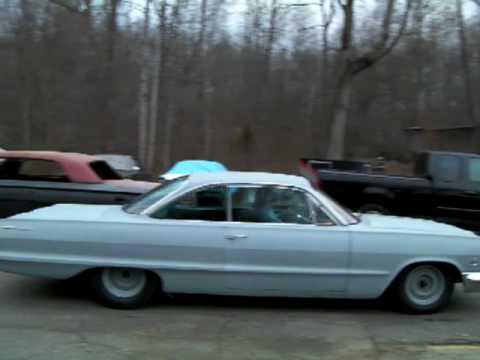63 bubbletop bel air - YouTube