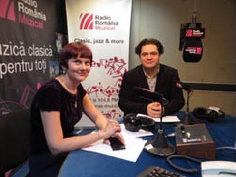 Dirijorul Cristian Macelaru la Radio Romania Muzical