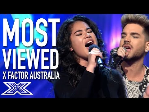 TOP 10 MOST VIEWED PERFORMANCES | The X Factor Australia