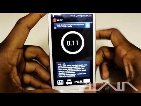 ALC.E 2.0 The Breathalyzer App