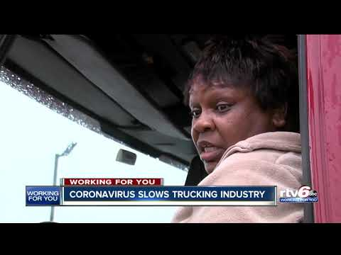 Coronavirus Slows Trucking Industry