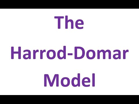 an analysis of the harrod domar model and its effects on income An open economy harrod-domar model 2 growth theory soon became concentrated on the analysis of steady states in stressed in turn the role of income effects.