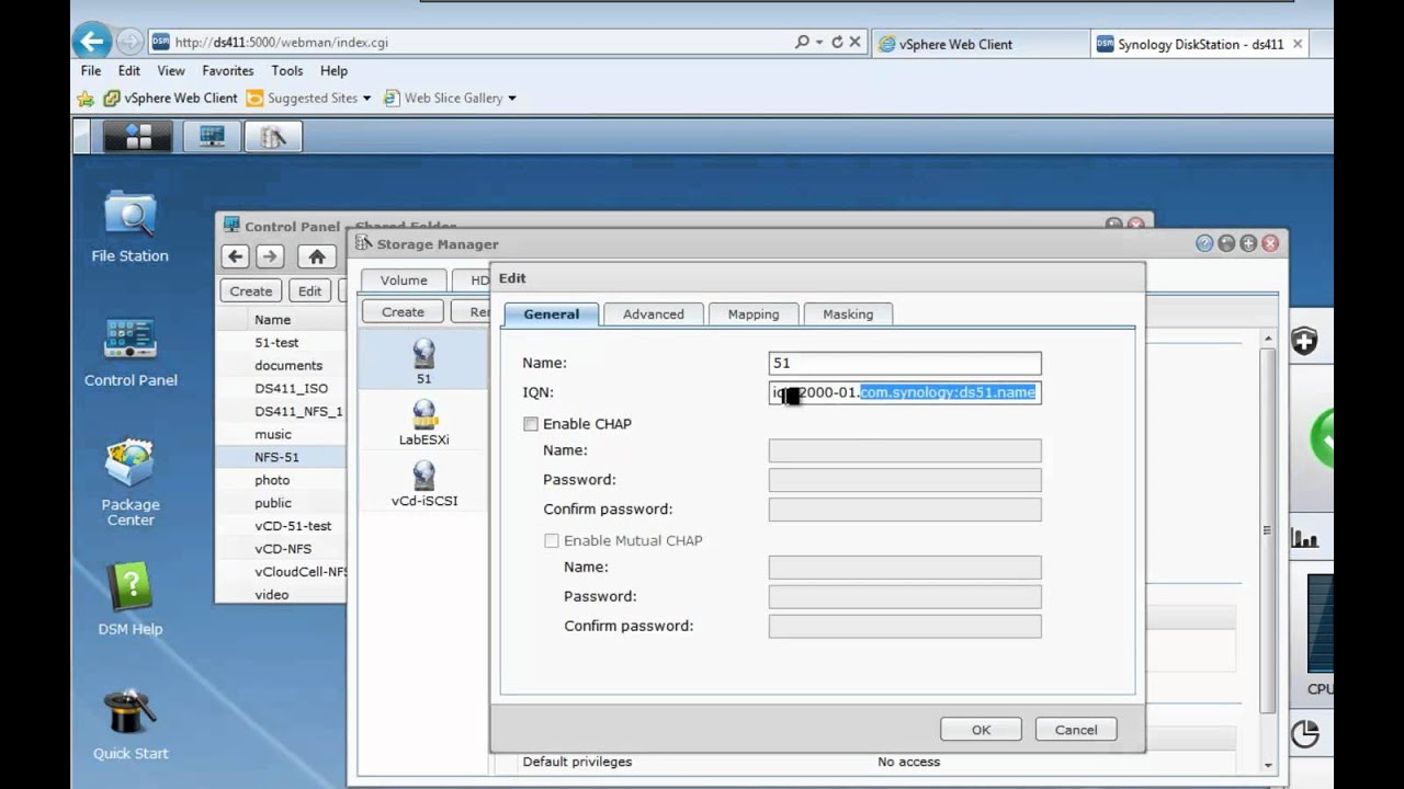Lesson 06: Add iSCSI and NFS Datastores with the vSphere Web Client