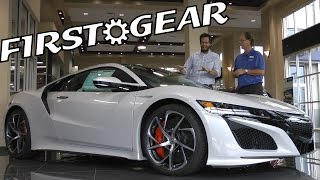 First Gear SPECIAL EPISODE - 2017 Acura NSX - Review and Test Drive