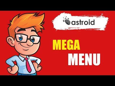Astroid Mega Menu - How To Add Mega Menu In Joomla Site