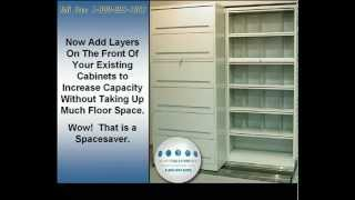 Locking Steel Shelving Doors | Rolling Shelving Doors | Flipper Doors for File Cabinets Thumbnail