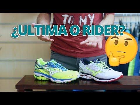 mizuno wave rider 22 vs asics nimbus yellow running