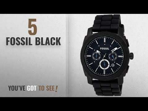 b0e5456c7 News-fossil mens fs4552 machine black stainless steel chronograph watch