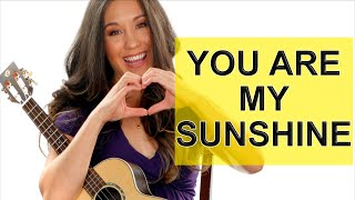 You Are My Sunshine Fingerstyle Ukulele Tutorial with Tabs and Play Along