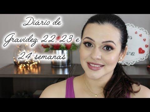 Diario de Gravidez: 22, 23 e 24 semanas