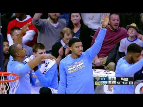 New York Knicks vs Denver Nuggets | December 17, 2016 | NBA 2016-17 Season