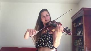 Hedia ft. Kristen Marie - Your Mind (violin cover - Marie-Alix)