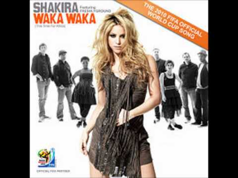 Shakira  Waka Waka This Time for Africa Audio
