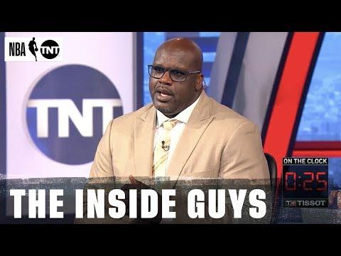 Chuck Calls Shaq 'Mr. Sensitive' in Another Chuck vs. Shaq Face-off   NBA on TNT