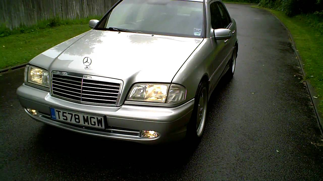 1999T MERCEDES C240 SPORT SALOON AUTO WITH C43 AMG KIT  YouTube