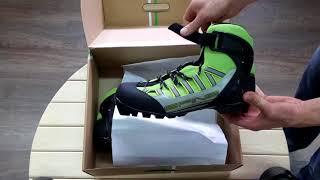 Видео-обзор ботинки лыжероллерные SPINE NNN Skiroll Combi (14) www.ski-roll.ru