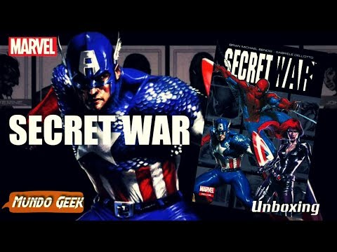 secret-war-marvel-deluxe.-marvel-cómics-méxico-(smash).-unboxing.
