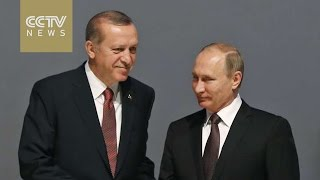 Erdogan and Putin talk on energy, trade and Syria cooperation in Istanbul