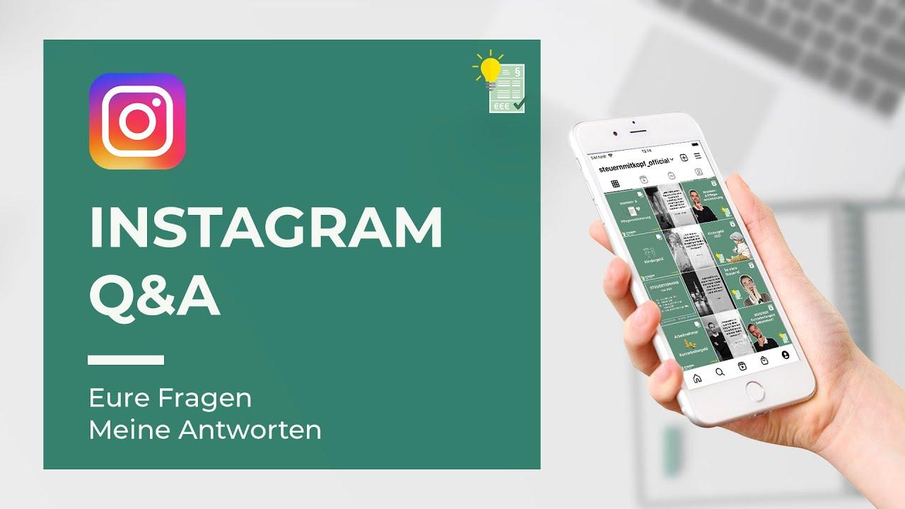 Instagram Q&A | Ich beantworte eure Fragen!