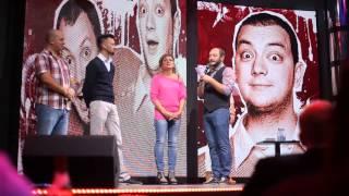 клуб БАЗА Сестры ЗАЙЦЕВЫ (Comedy Club) 28.09.2013(Клуб