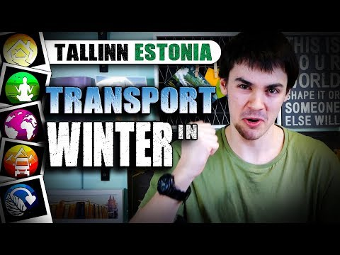 Tallinn Transport Warnings and Winter Facts - ESTONIA