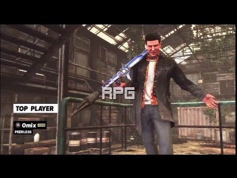 Max Payne 3 ALL CHROME PLATED GUNS