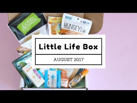 Little Life Box Subscription Box Unboxing August 2017
