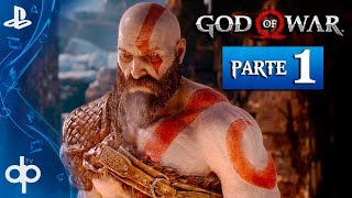 GOD OF WAR 4 PS4 Parte 1 Gameplay Español PS4 PRO 60fps | Prologo KRATOS VUELVE (God of War 2018)