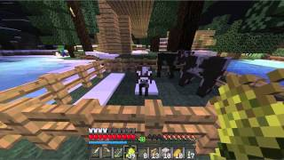 Repeat youtube video Minecraft Central - Cow Farm in the Making - Ep. 18