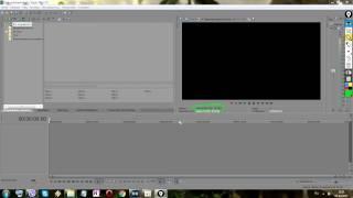 Sony Vegas Pro 13 0.  Урок 2.  Импорт медиафайлов
