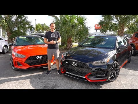 Which is the BETTER Hot Hatch to BUY? 2020 Hyundai Veloster N or Veloster Turbo?