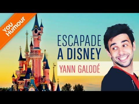 Ecapade à Disney avec Yann Galode