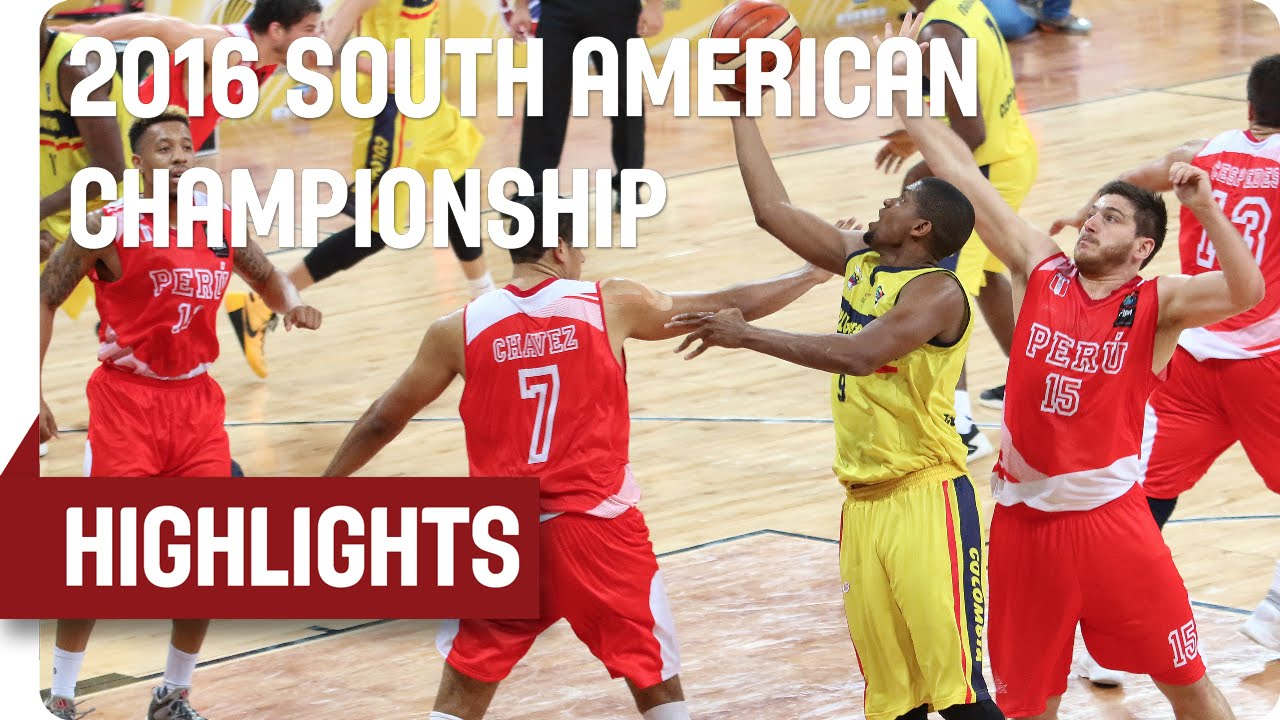 Colombia (COL) v Peru (PER) - Game Highlights - Group B - 2016 South American Championship