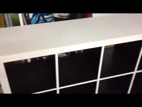 How2 diy 8er Expedit Regal Ikea - YouTube