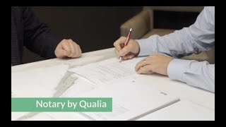 Notary by Qualia