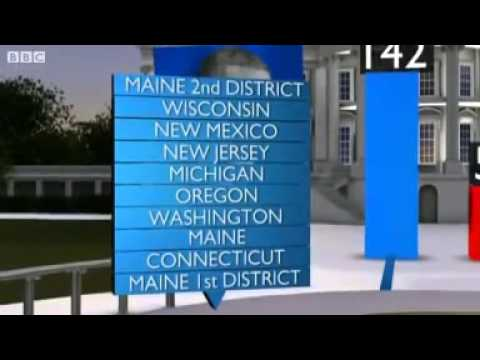 US election 2012:  How the electoral college system works.