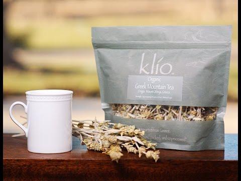 Brewing Greek Mountain Tea | Klio Tea