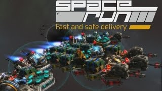 Space Run - Spaceship Building & Tower Defence Collide... In Spaaaacce