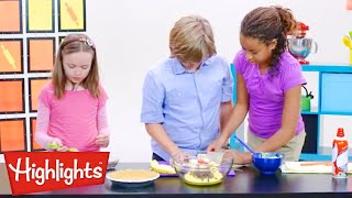 Make it recipe: Banana Fruit Pie  | Learning for Kids | Highlights Kids