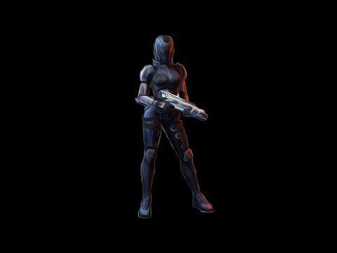 Solo Gold - Female Human Engineer - Collectors - Reactor - Arc Pistol