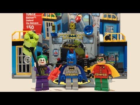 LEGO Juniors Batman Defend the Batcave Review 10672 - YouTube