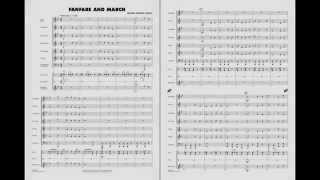 fanfare and march by michael sweeney